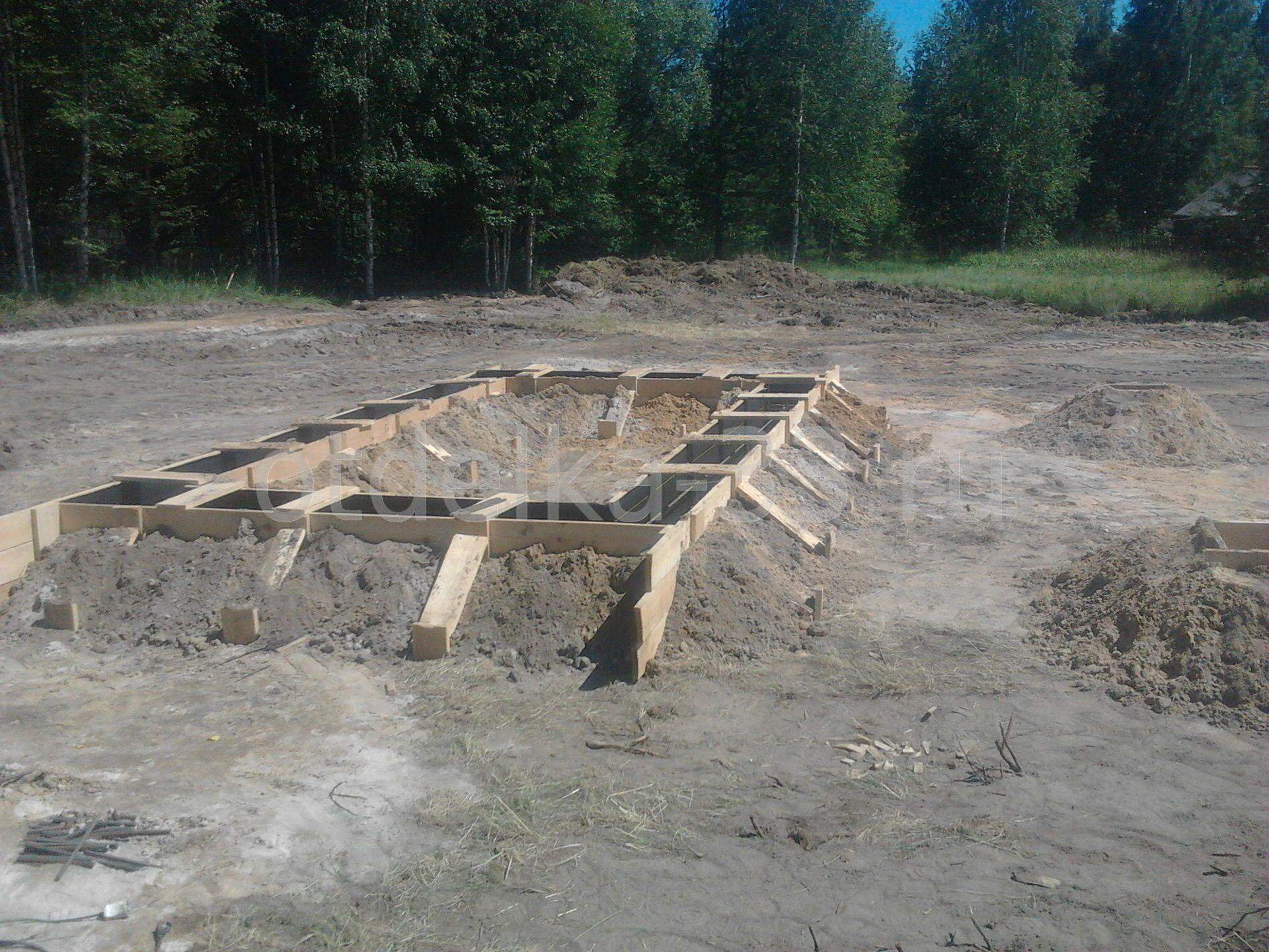 Ленточный фундамент 5х6 цена Одинцовский район